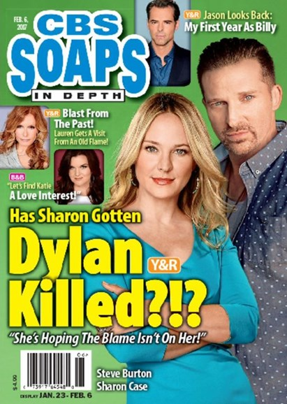 CBS Soaps In Depth Cover - 2/6/2017