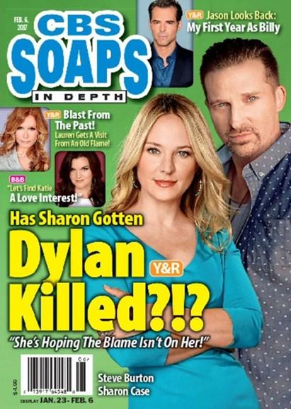 CBS Soaps In Depth Cover - 2/6/2017
