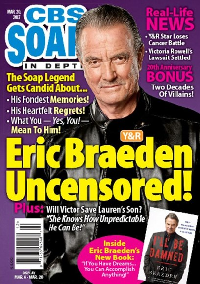 CBS Soaps In Depth Cover - 3/20/2017