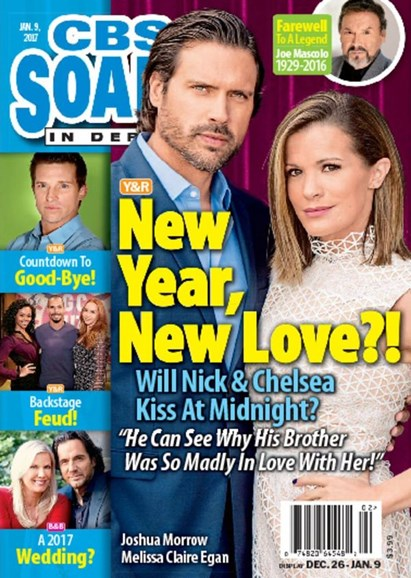 CBS Soaps In Depth Cover - 1/9/2017