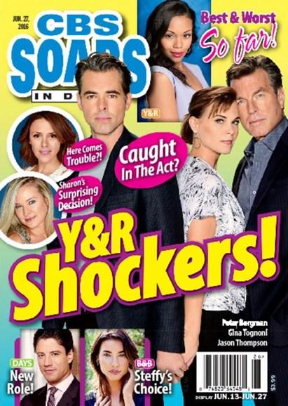 CBS Soaps In Depth Cover - 6/27/2016