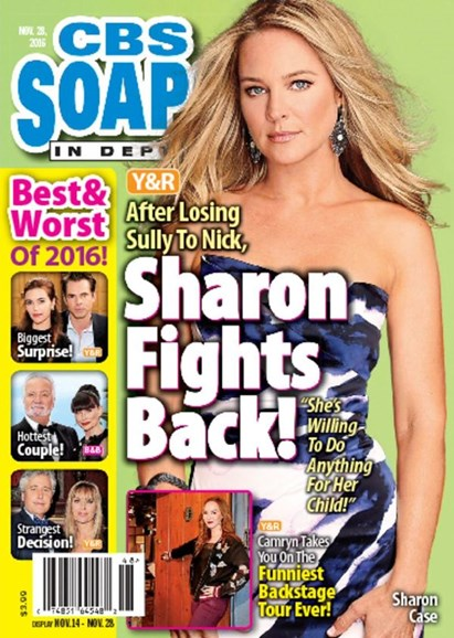 CBS Soaps In Depth Cover - 11/28/2016