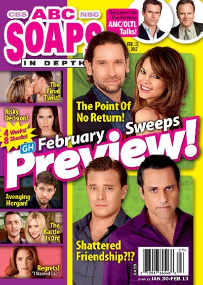 ABC Soaps In Depth Cover - 2/13/2017