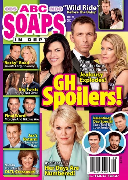 ABC Soaps In Depth Cover - 2/27/2017