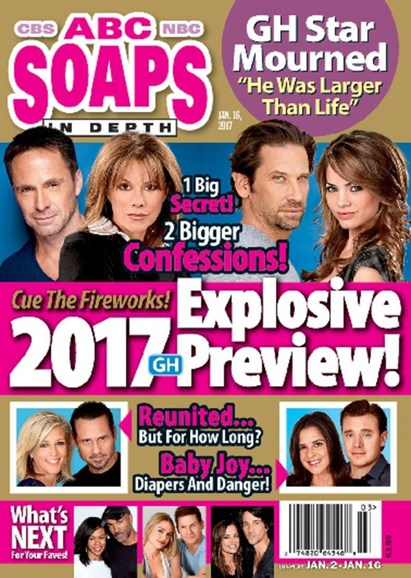 ABC Soaps In Depth Cover - 1/16/2017