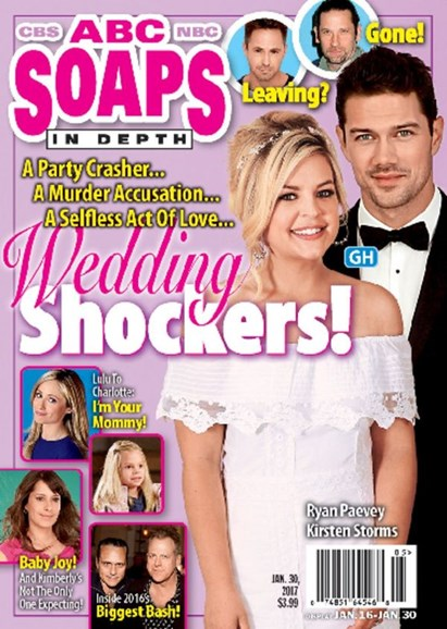 ABC Soaps In Depth Cover - 1/30/2017