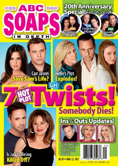 ABC Soaps In Depth Cover - 3/13/2017