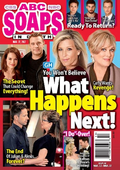 ABC Soaps In Depth Cover - 3/27/2017