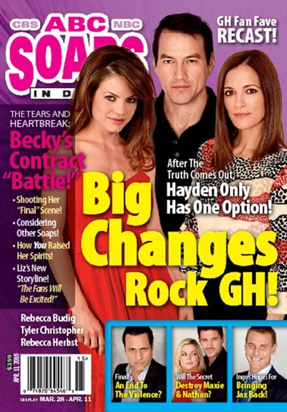 ABC Soaps In Depth Cover - 4/11/2016