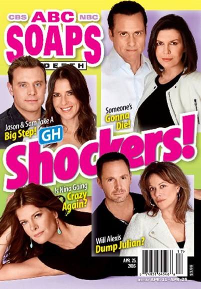 ABC Soaps In Depth Cover - 4/25/2016