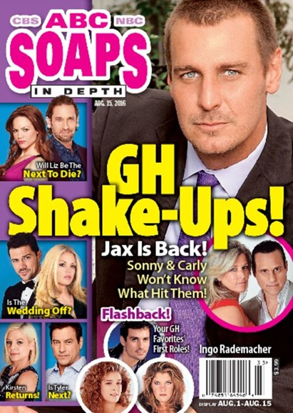 ABC Soaps In Depth Cover - 8/15/2016