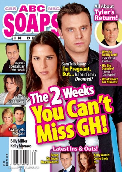 ABC Soaps In Depth Cover - 8/29/2016