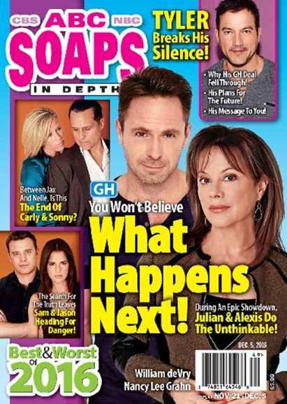 ABC Soaps In Depth Cover - 12/5/2016