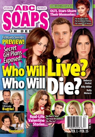 ABC Soaps In Depth Cover - 2/15/2016