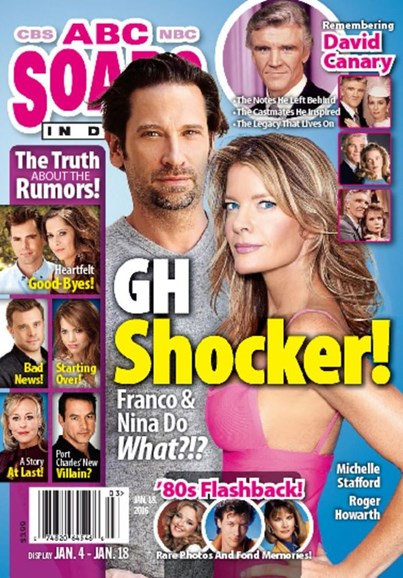 ABC Soaps In Depth Cover - 1/18/2016