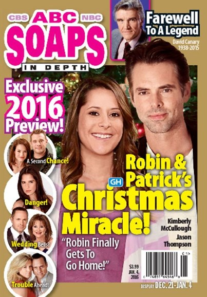 ABC Soaps In Depth Cover - 1/4/2016