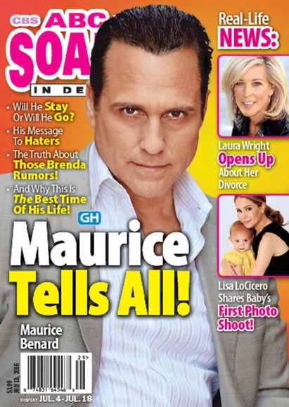 ABC Soaps In Depth Cover - 7/18/2016