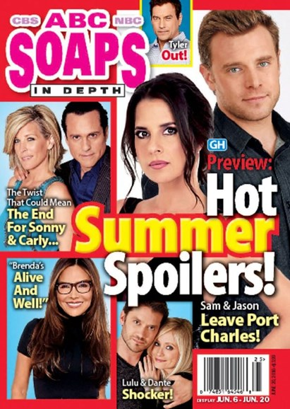ABC Soaps In Depth Cover - 6/20/2016