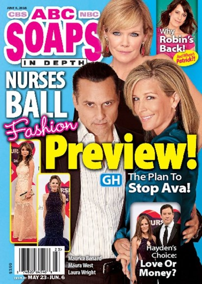 ABC Soaps In Depth Cover - 6/6/2016
