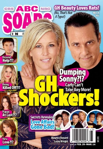 ABC Soaps In Depth Cover - 3/14/2016