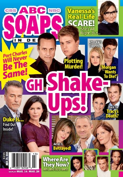 ABC Soaps In Depth Cover - 3/28/2016