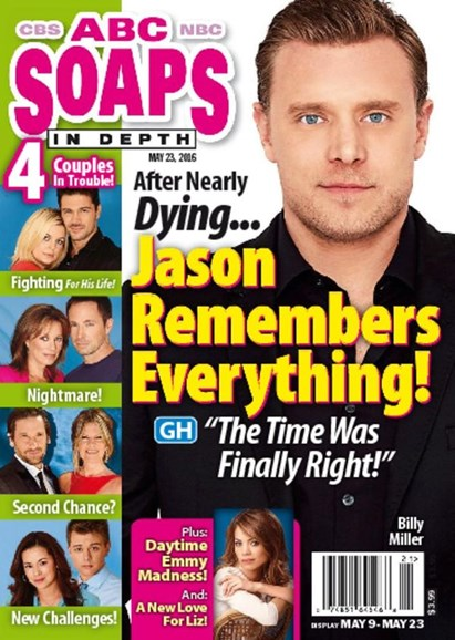 ABC Soaps In Depth Cover - 5/23/2016