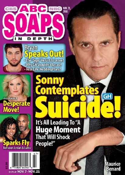 ABC Soaps In Depth Cover - 11/21/2016
