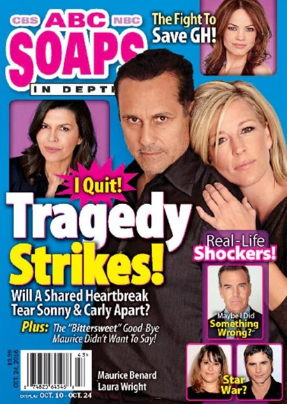 ABC Soaps In Depth Cover - 10/24/2016