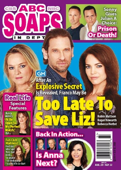 ABC Soaps In Depth Cover - 9/12/2016