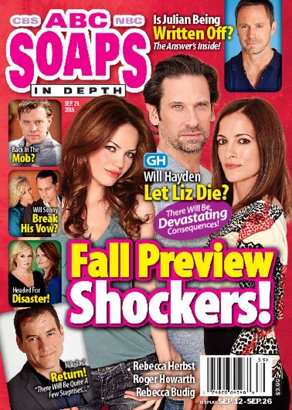 ABC Soaps In Depth Cover - 9/26/2016