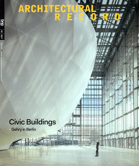 Architectural Record Cover - 3/1/2017