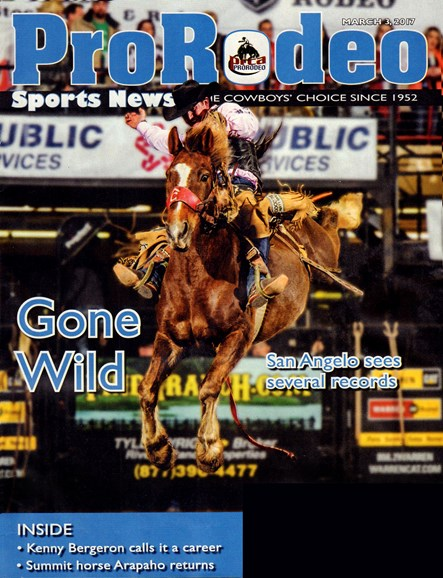 Pro Rodeo Sports News Cover - 3/3/2017