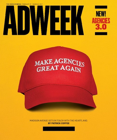 Adweek Cover - 2/27/2017