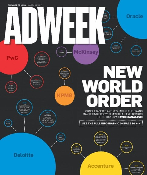 Adweek Cover - 3/13/2017