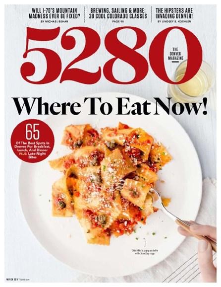 5280 Magazine Cover - 3/1/2017