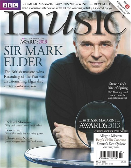 BBC Music Cover - 5/1/2013