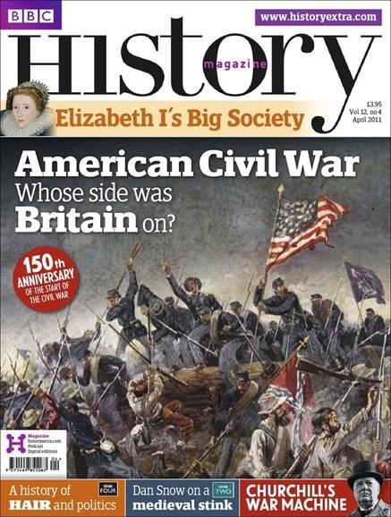 BBC History Cover - 4/1/2011