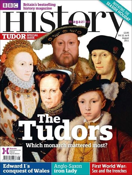 BBC History Cover - 8/1/2011