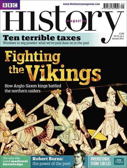 BBC History Cover - 1/1/2011