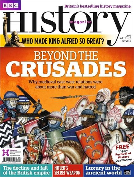 BBC History Cover - 7/1/2011