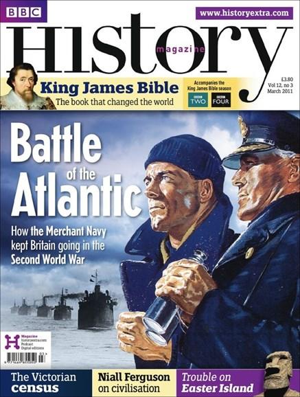BBC History Cover - 3/1/2011