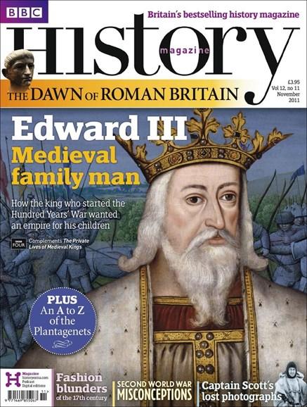 BBC History Cover - 11/1/2011
