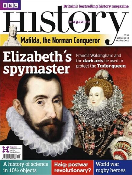 BBC History Cover - 10/1/2011