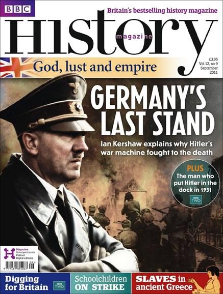 BBC History Cover - 9/1/2011