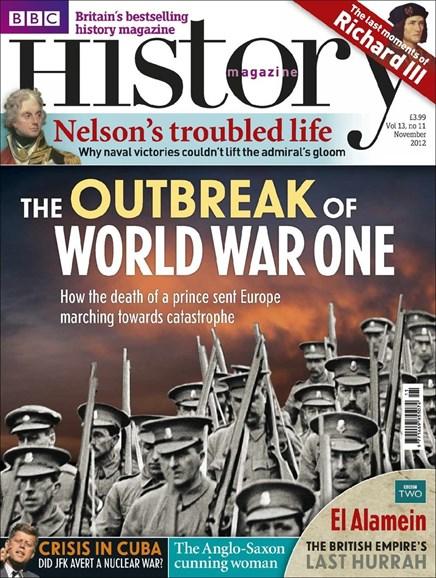 BBC History Cover - 11/1/2012