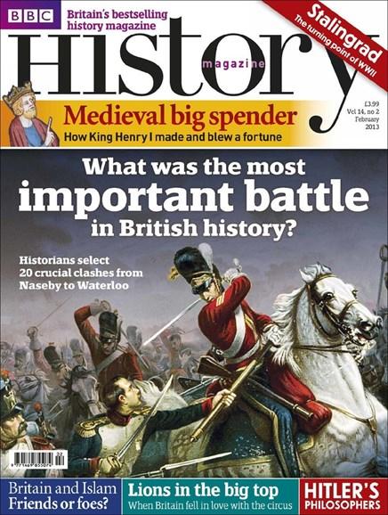 BBC History Cover - 2/1/2013