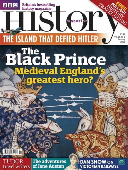 BBC History Cover - 1/1/2013