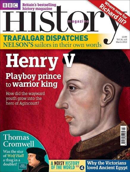 BBC History Cover - 3/1/2013