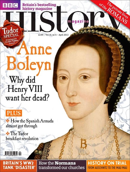 BBC History Cover - 4/1/2013