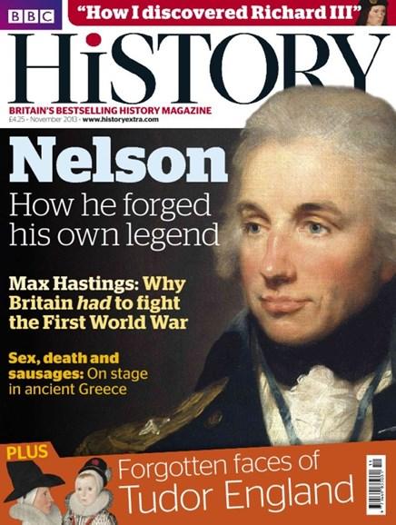 BBC History Cover - 11/1/2013